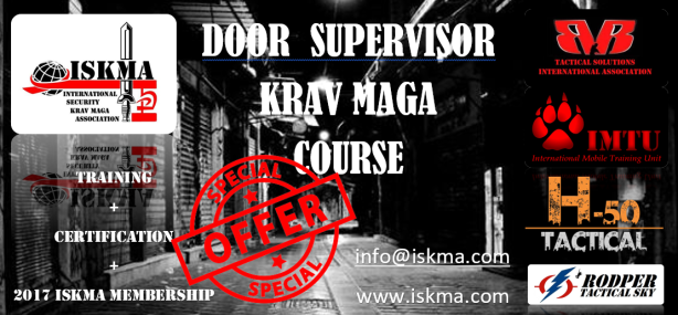 DOOR SUPERVISOR KRAV MAGA COURSE