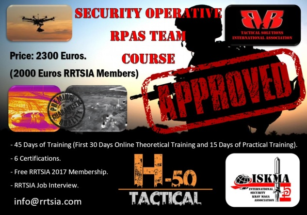 SECURITY OPERATIVE RPAS TEAM COURSE