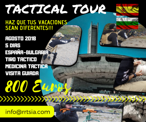TACTICAL TOUR AGOSTO 2018